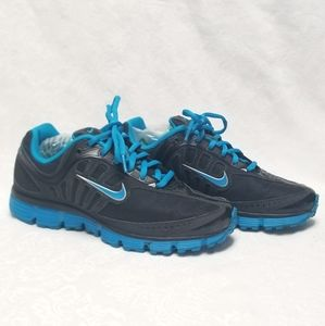 Nike Air  Running Shoes 7.5 Black Turquoise